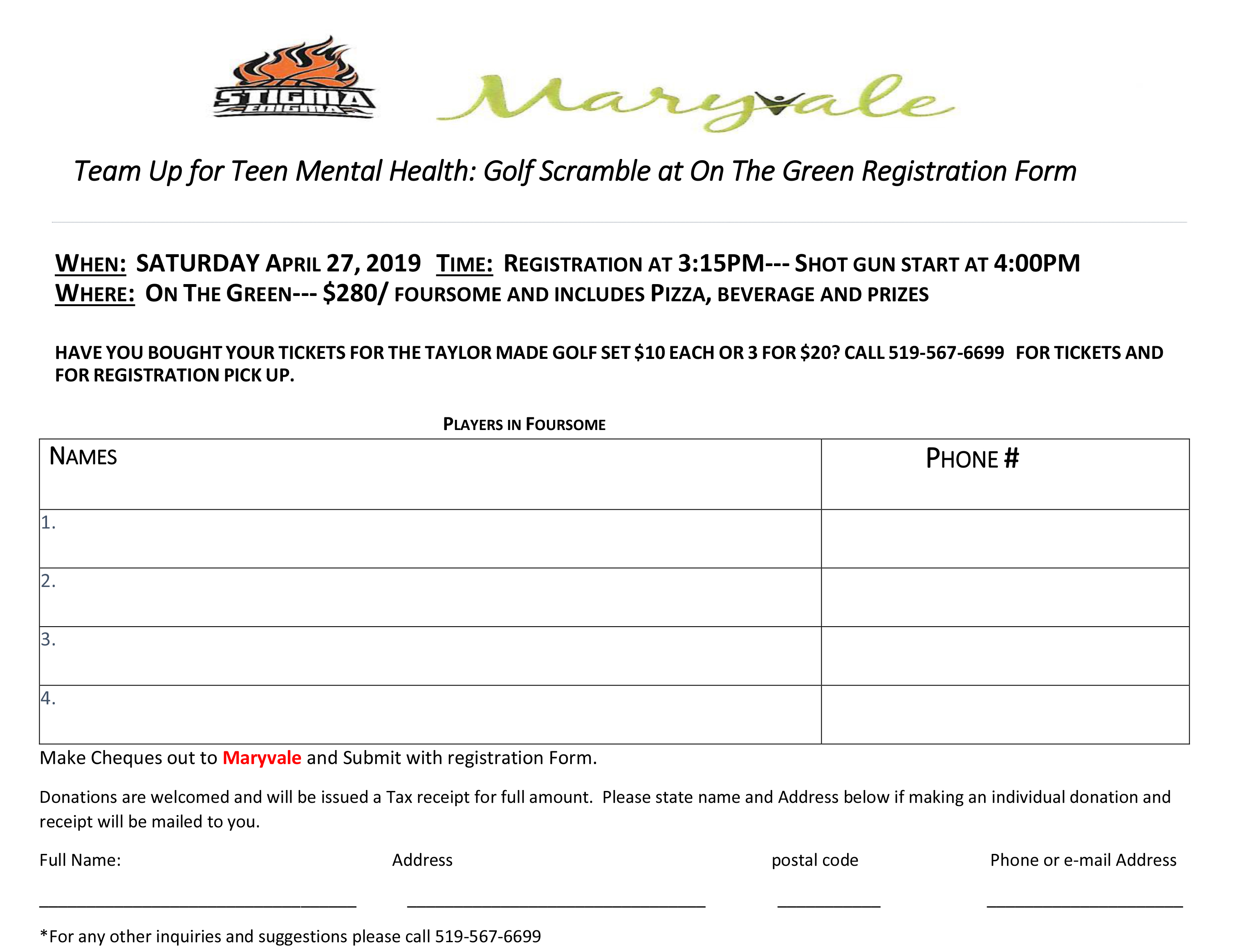 Canada Charity Golf Events   The Bogey Golf Tour